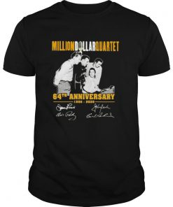Million dollar quartet 64th anniversary 1956 2020 signatures shirt
