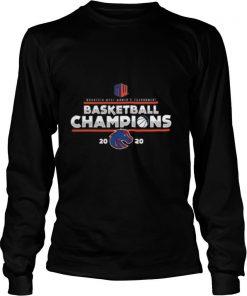 Mountain west women's tournament basketball champions 2020 denver broncos team shirt