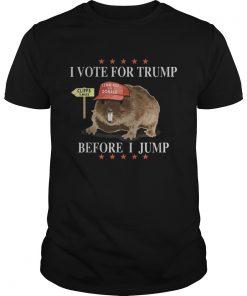 Mouse i vote for trump before i jump lemmings for donald stars  Unisex