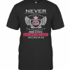 Never Underestimate The Power Of A Ohio State Buckeyes Woman T-Shirt Classic Men's T-shirt