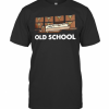 Old School Librarian New T-Shirt Classic Men's T-shirt