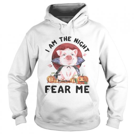 Pig witch I am the night fear me sunset  Hoodie
