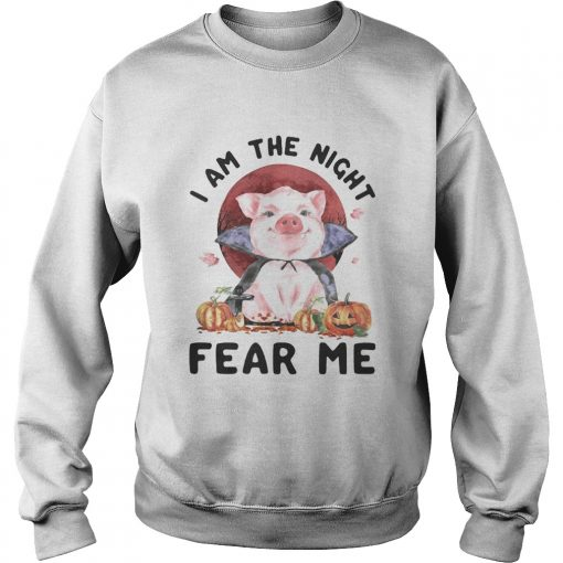 Pig witch I am the night fear me sunset  Sweatshirt