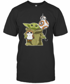 Star Wars Baby Yoda Bb8 And Wampa T-Shirt Classic Men's T-shirt