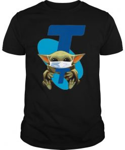 Star wars baby yoda mask hug stellar shirt
