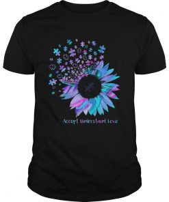 Sunflower Accept Understand Love  Unisex