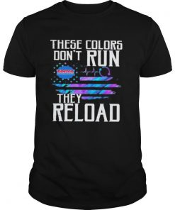 These colors don't run they reload costco wholesale logo american flag independence day shirt