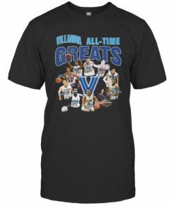 Villanova Wildcats All Time Great Signatures T-Shirt Classic Men's T-shirt