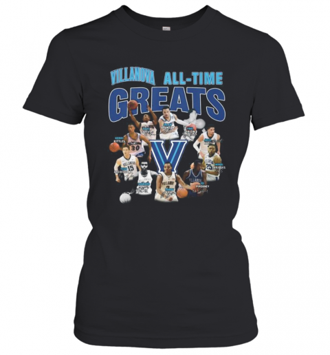 Villanova Wildcats All Time Great Signatures T-Shirt Classic Women's T-shirt