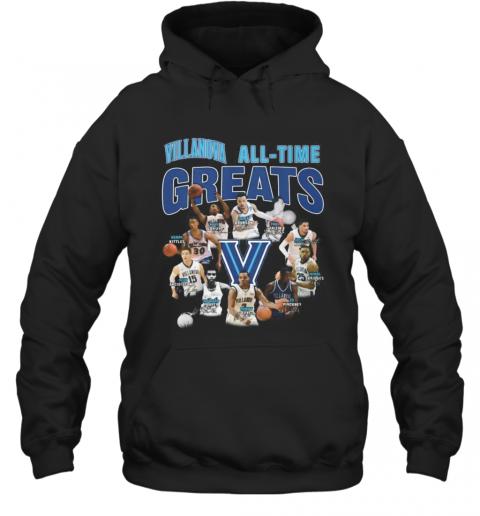 Villanova Wildcats All Time Great Signatures T-Shirt Unisex Hoodie