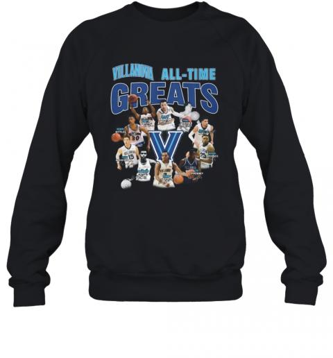 Villanova Wildcats All Time Great Signatures T-Shirt Unisex Sweatshirt