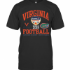 Virginia Cavaliers Vs Florida Gator 2019 Football Captain One Orange Bowl T-Shirt Classic Men's T-shirt