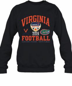 Virginia Cavaliers Vs Florida Gator 2019 Football Captain One Orange Bowl T-Shirt Unisex Sweatshirt
