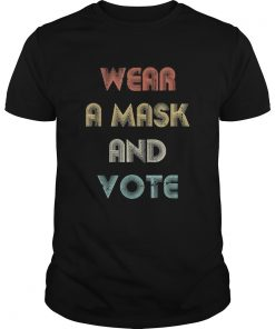 Wear a mask and vote vintage  Unisex
