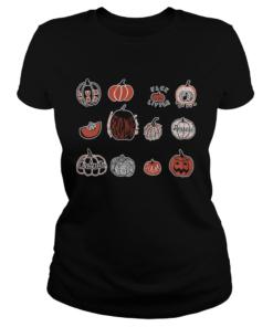 happy halloween pumpkin  Classic Ladies