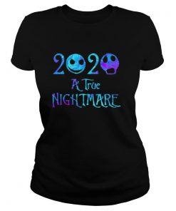 2020 a true nightmare jack skellington shirt