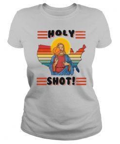 Basketball Jesus Holy Shot Vintage shirt