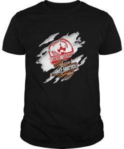 Blood Inside Me Cabernet Sauvignon Motor Harley Davidson Company shirt