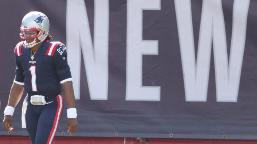 Cam Newton on his Patriots debut: 'This is the new normal'