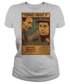Donnie Brasco Al Pacino Johnny Depp Retro Movie Print shirt
