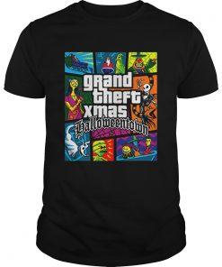 Grand Theft Xmas Halloween Town  Unisex