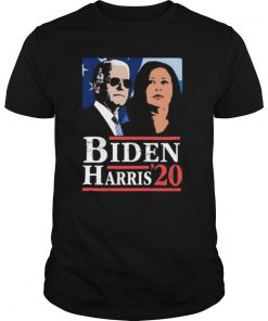 Joe biden kamala harris 2020 line art shirt
