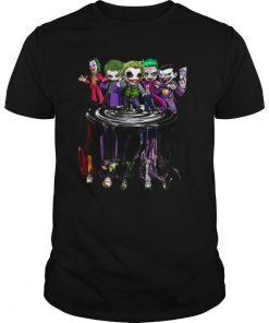 Joker All Season Chibi Water Reflection shirt