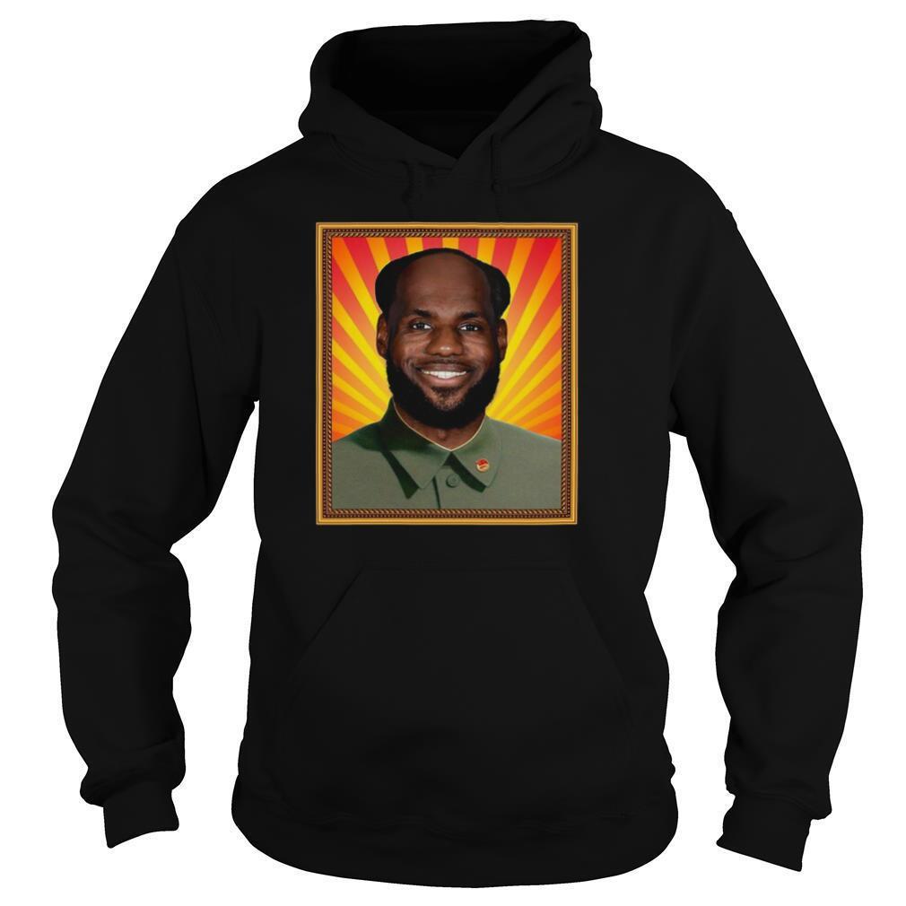 Lebron James' China Mao Zedong shirt