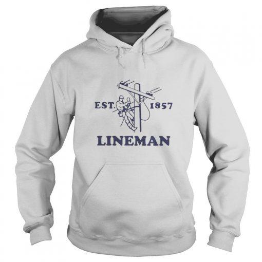 Lineman Est.1857 shirt