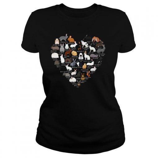 Love Bunnies Heart shirt