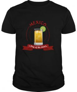 Mexico Liqueur Lemon Day Of The Dead shirt