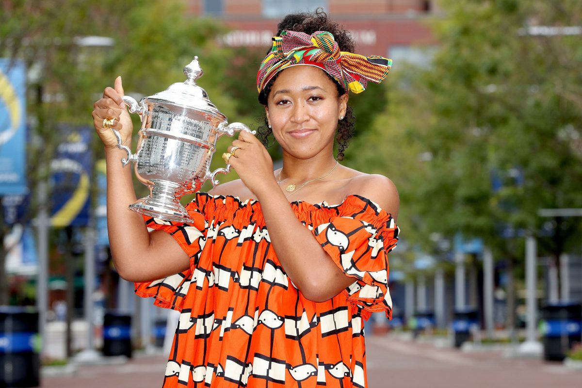 Naomi Osaka Celebrates Her US Open Victory With One Last Style Statement