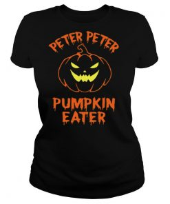 Peter Peter Pumpkin Eater Halloween Couples Costume shirt