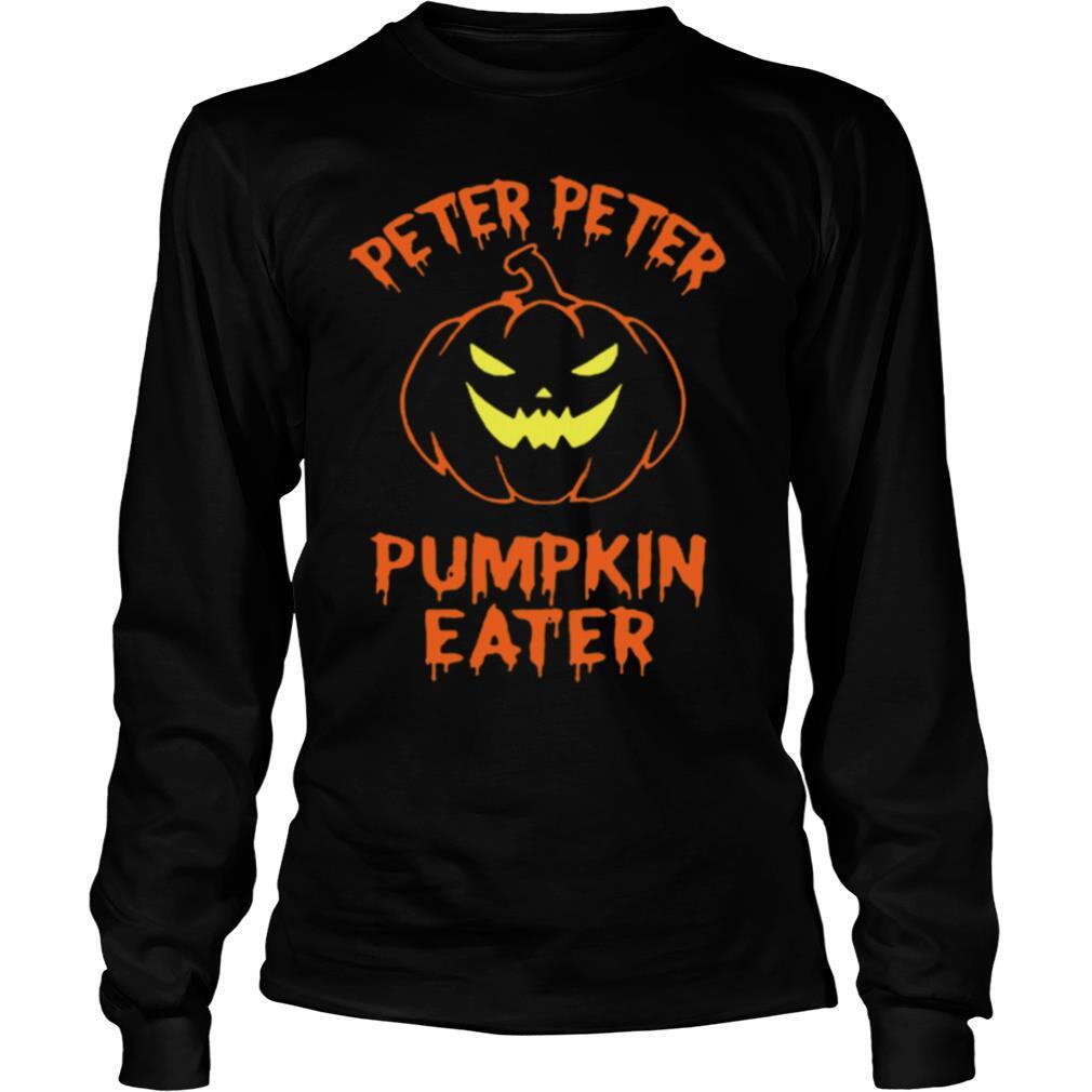 Peter Peter Pumpkin Eater Halloween Couples Costume shirt