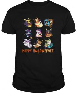 Pokemon Happy Halloweevee shirt