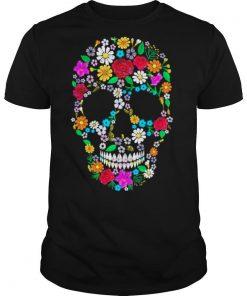 Skull Flowers shirt