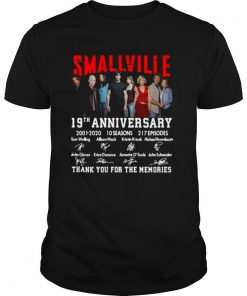 Smallville 19th Anniversary 2001 2020 10 Seasons 217 Episodes Signature shirt
