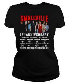 Smallville 19th Anniversary 2001 2020 10 Seasons 217 Episodes Signature shirt