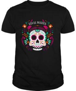 Sugar Skull Day Dead Dia De Muertos shirt