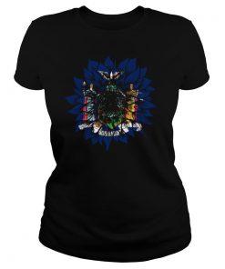 Sunflower New York Flag shirt