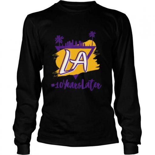 10 Years Later LA shirt