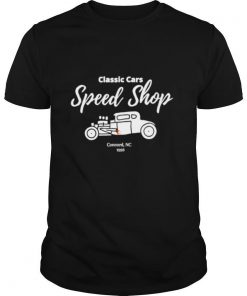 Classic Cars Speed Shop shirt