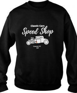 Classic Cars Speed Shop shirt