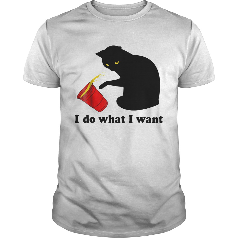 Do What I Want Black Cat Red Unisex