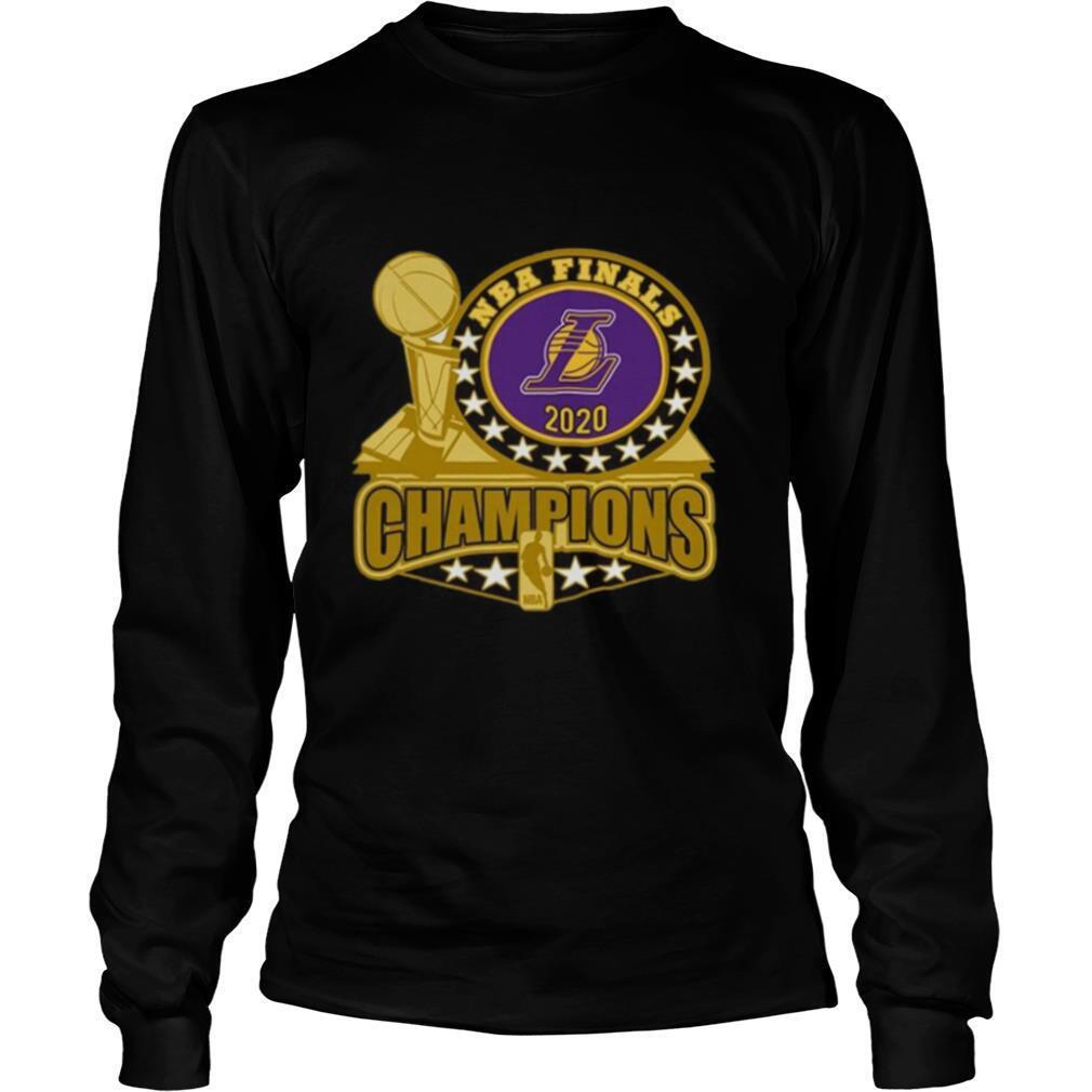 LA Lakers 2020 NBA Champions Trophy shirt