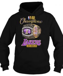 Nba finals 2020 champions los angeles lakers shirt