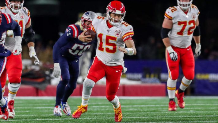 Patriots vs Chiefs picks odds Point spread total props trends for Monday's game on CBS CBS All Access