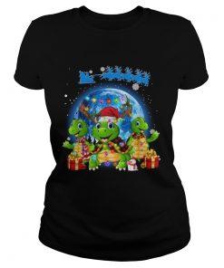 Turtles Merry Christmas  Classic Ladies
