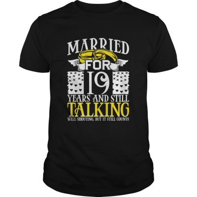 19th Wedding Anniversary for Wife Her Marriage  Unisex
