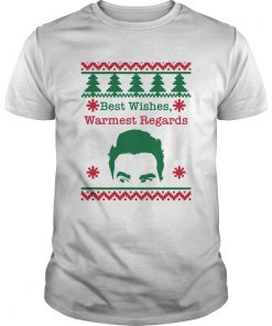 Best Wishes Warmest Regards David Rose Funny Rose Family Schitts Creek Ugly Christmas  Unisex